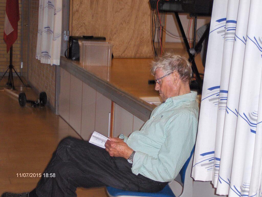 Jens Rosendal i Hellum - ser i sangbogen