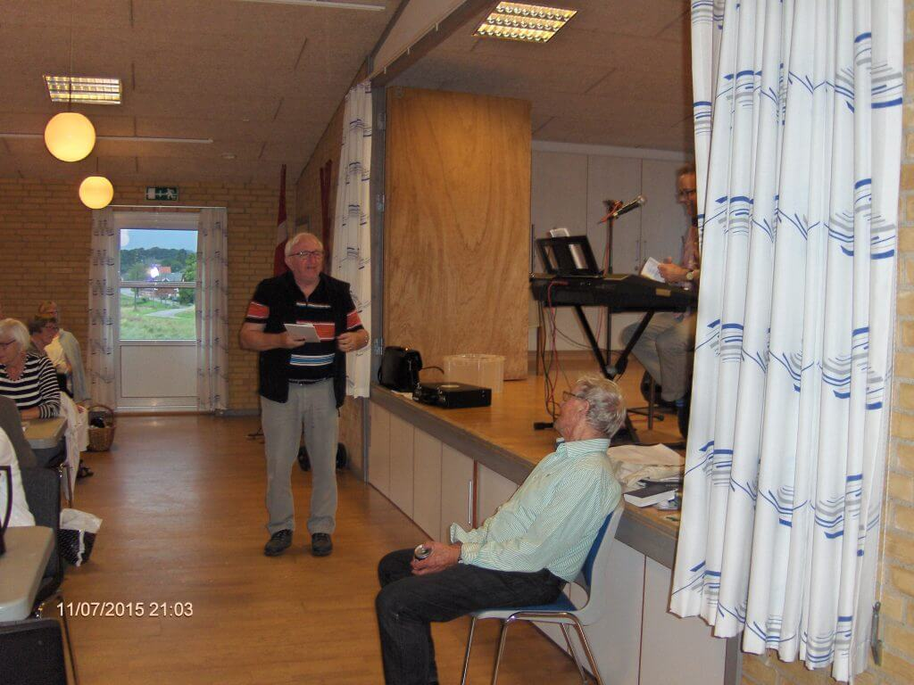 Ole Nørgaard og Jens i øjenkontakt