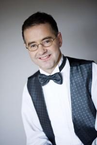 Portræt af musiker Poul Erik