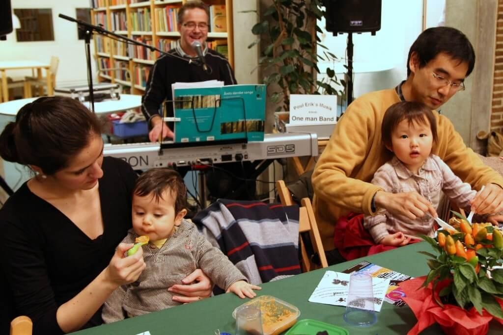 Spildansk på Aalborg hovedbibliotek den 28-10 2011